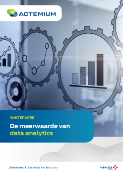 Titelpagina Whitepaper De meerwaarde van data analytics
