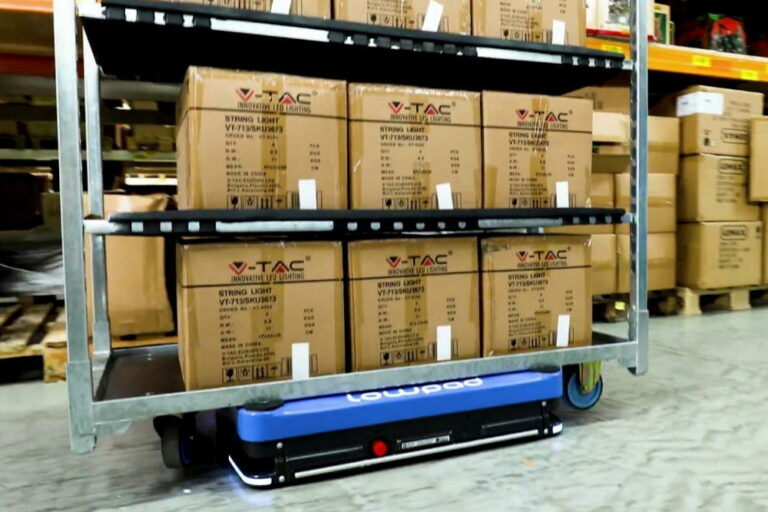 Automated Guided Vehicles (AGV of AMR)